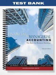 financial and managerial accounting 2nd edition pdf
