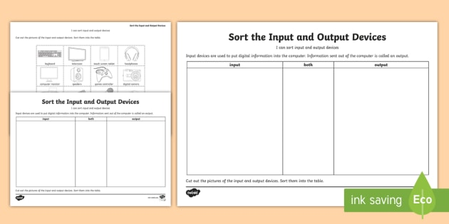 input and output devices of computer pdf download