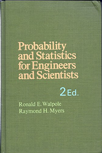 walpole probability and statistics for engineers and scientists pdf