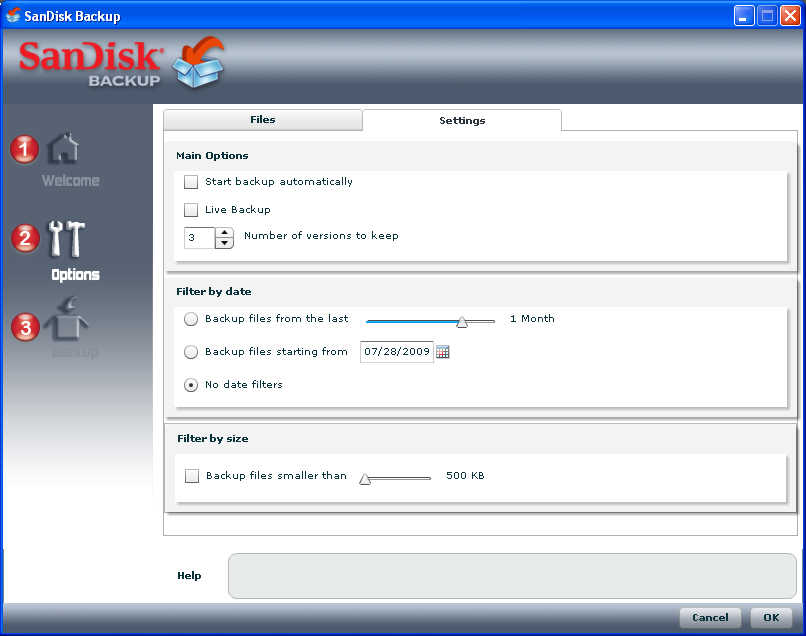 this application only runs on a sandisk flash drive