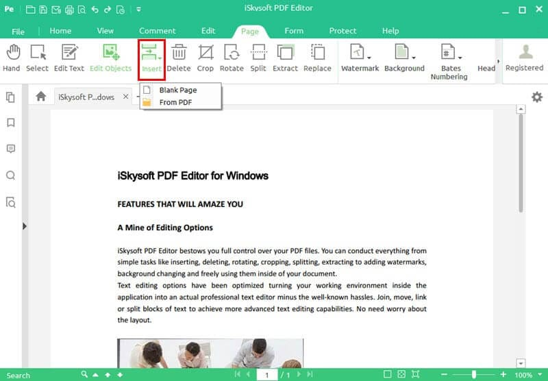 how to add pages to a pdf